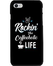 The Coffeeholic Phone Case thumbnail
