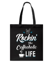 The Coffeeholic Tote Bag thumbnail