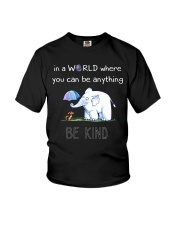 Teacher- be kind Youth T-Shirt thumbnail