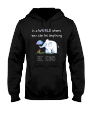 Teacher- be kind Hooded Sweatshirt thumbnail