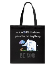 Teacher- be kind Tote Bag thumbnail