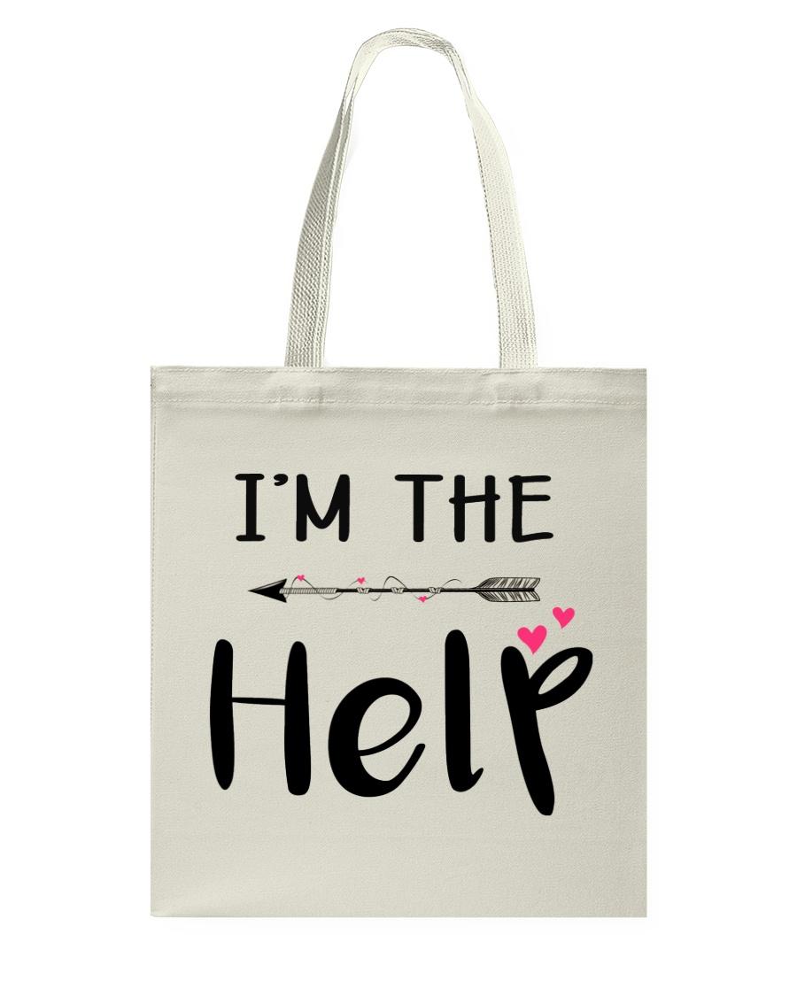 Wine I'm The Help Tote Bag