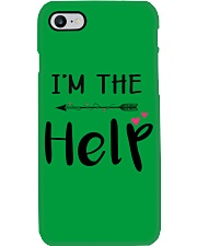 Wine I'm The Help Phone Case thumbnail