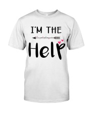 Wine I'm The Help Classic T-Shirt thumbnail