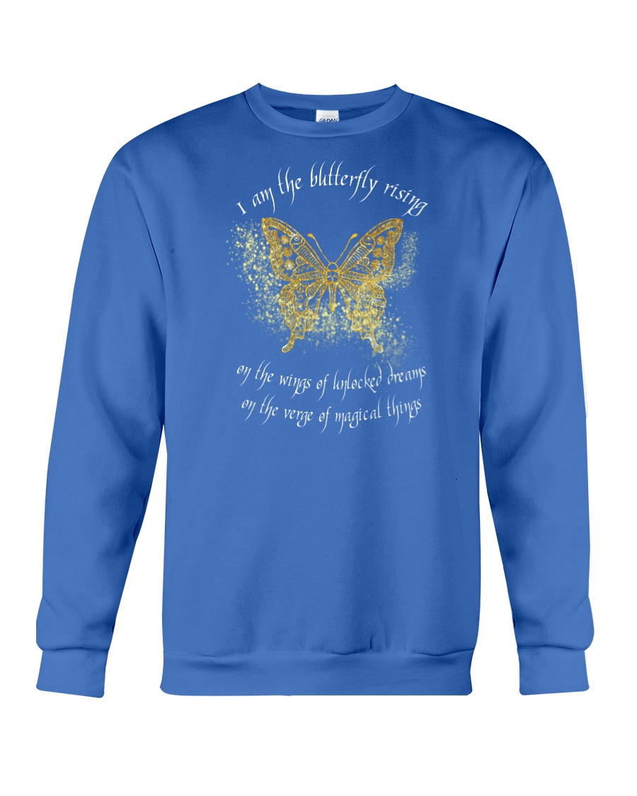 I AM THE BUTTERFLY Crewneck Sweatshirt