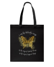 I AM THE BUTTERFLY Tote Bag thumbnail