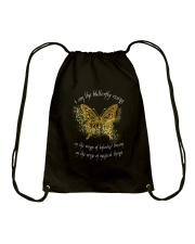 I AM THE BUTTERFLY Drawstring Bag thumbnail