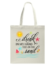 Drink in My Hand Tote Bag thumbnail