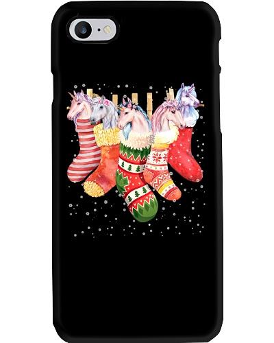 Unicorn Christmas Socks