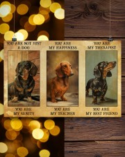 Dachshund You Are Not Just A Dog You Are My Sanity 17x11 Poster aos-poster-landscape-17x11-lifestyle-29