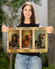 Dachshund You Are Not Just A Dog You Are My Sanity 17x11 Poster poster-landscape-17x11-lifestyle-19