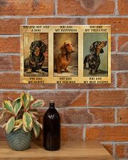 Dachshund You Are Not Just A Dog You Are My Sanity 17x11 Poster poster-landscape-17x11-lifestyle-23