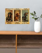 Dachshund You Are Not Just A Dog You Are My Sanity 17x11 Poster poster-landscape-17x11-lifestyle-24
