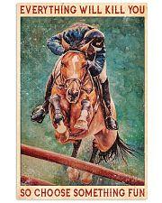 HORSE CHOOSE SOMETHING FUN 11x17 Poster front