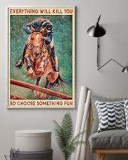 HORSE CHOOSE SOMETHING FUN 11x17 Poster lifestyle-poster-1