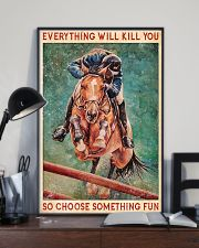 HORSE CHOOSE SOMETHING FUN 11x17 Poster lifestyle-poster-2