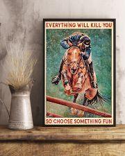 HORSE CHOOSE SOMETHING FUN 11x17 Poster lifestyle-poster-3