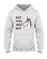 Unicorn Eff You See Kay Hooded Sweatshirt thumbnail