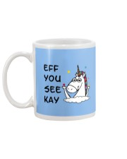 Unicorn Eff You See Kay Mug back