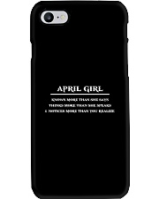 April Girl Phone Case thumbnail