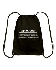 April Girl Drawstring Bag thumbnail