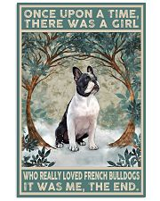 French Bulldog Once Upon A Time 11x17 Poster front