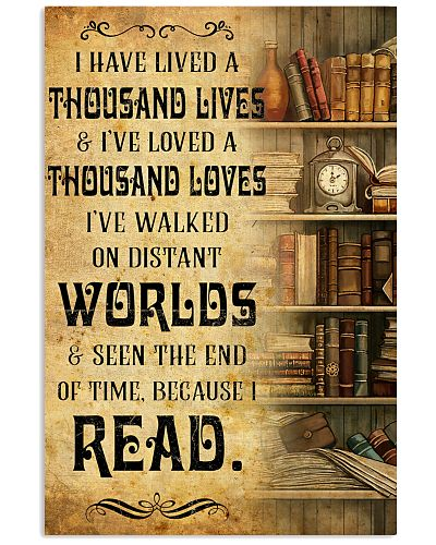 Books I Have Lived A Thousand Lives