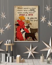 Cat Once Upon A Time There Was A Girl Poster 16x24 Poster lifestyle-holiday-poster-1