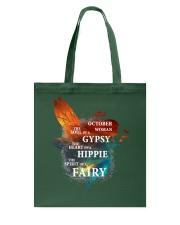 I am a October Woman Tote Bag front