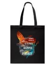 I am a April Woman Tote Bag thumbnail