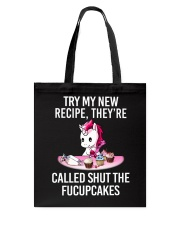 Unicorn Try My New Recipe Tote Bag thumbnail