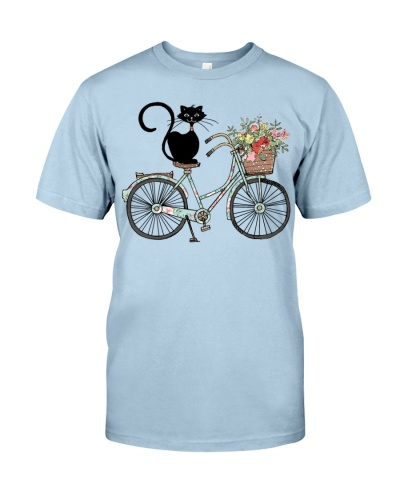 Cat And Bicycle