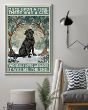 Labrador Once Upon A Time 11x17 Poster lifestyle-poster-1