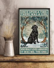 Labrador Once Upon A Time 11x17 Poster lifestyle-poster-3
