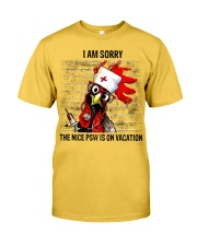 The Nice Psw Is On Vacation Classic T-Shirt thumbnail