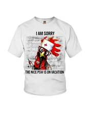 The Nice Psw Is On Vacation Youth T-Shirt thumbnail