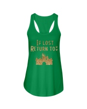 Funny - If lost return to Ladies Flowy Tank front