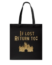 Funny - If lost return to Tote Bag thumbnail