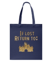 Funny - If lost return to Tote Bag front