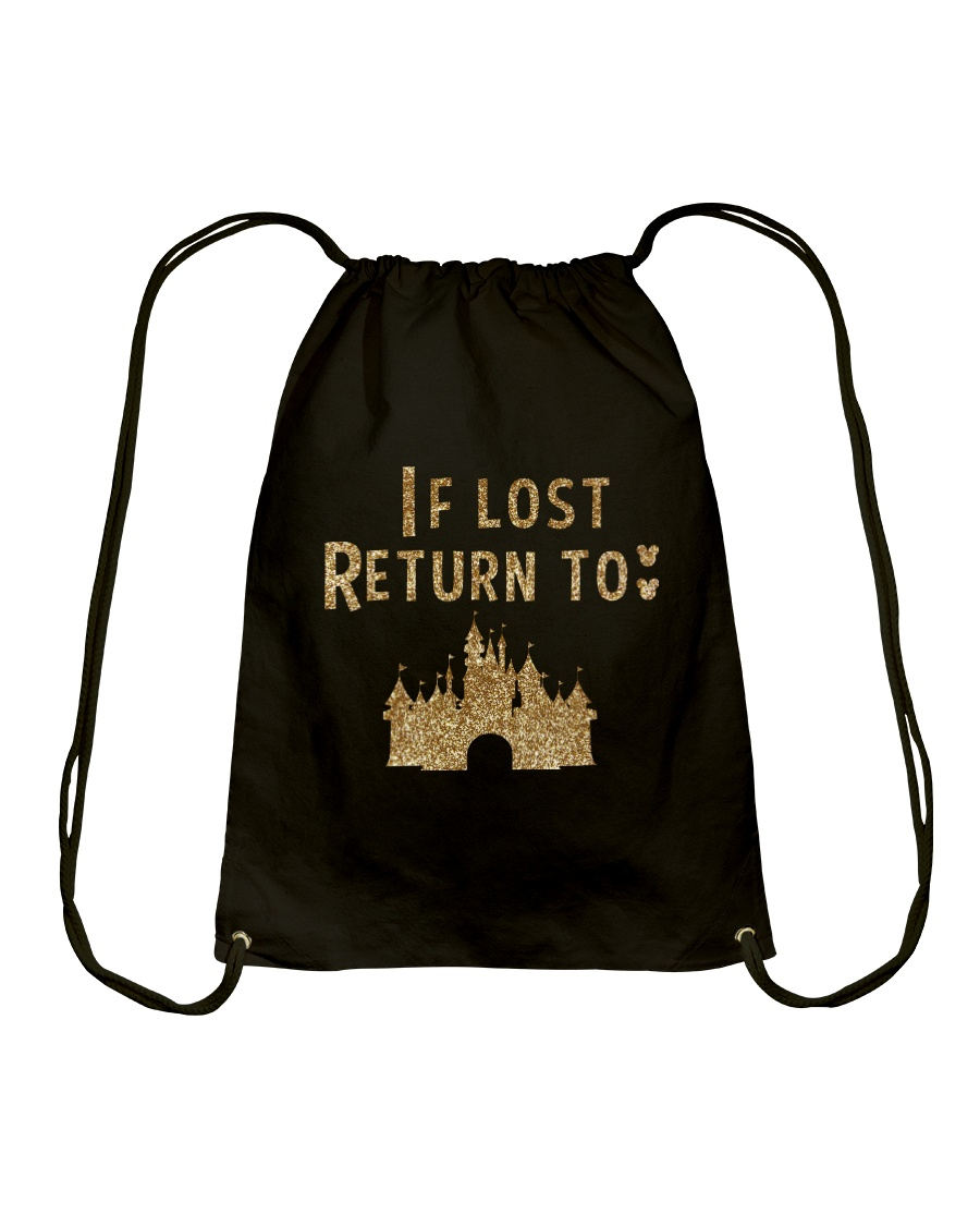 Funny - If lost return to Drawstring Bag