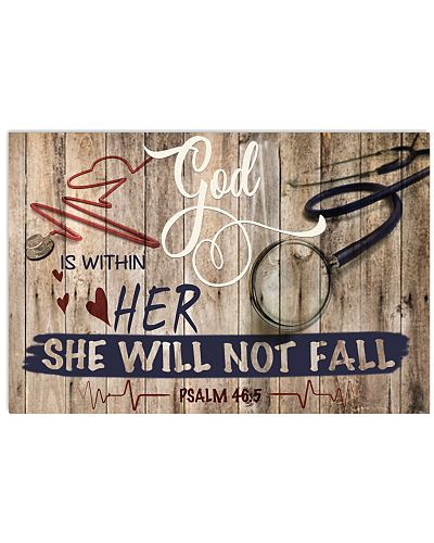 Nurse God Is Within Her She Will Not Fall