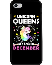 Unicorn Queens Are Born In December Phone Case thumbnail