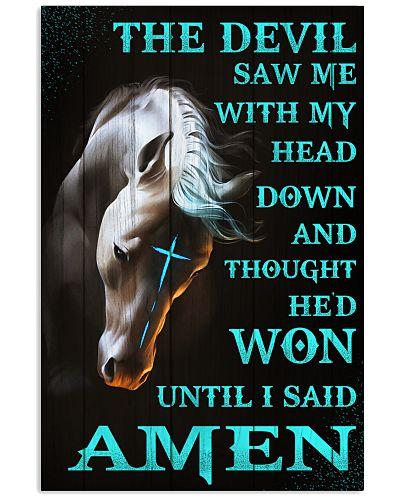 Horse I Said Amen Poster