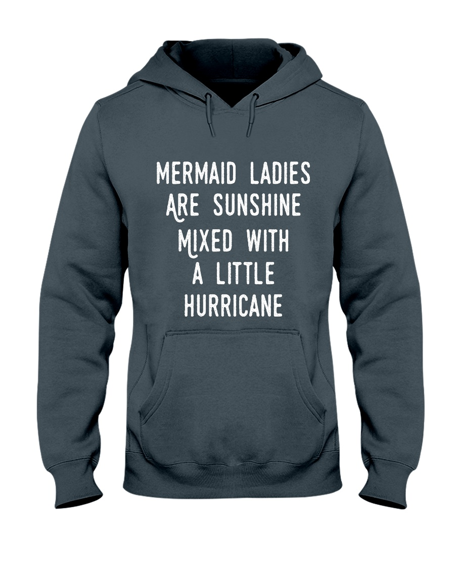 Mermaid Ladies Hooded Sweatshirt