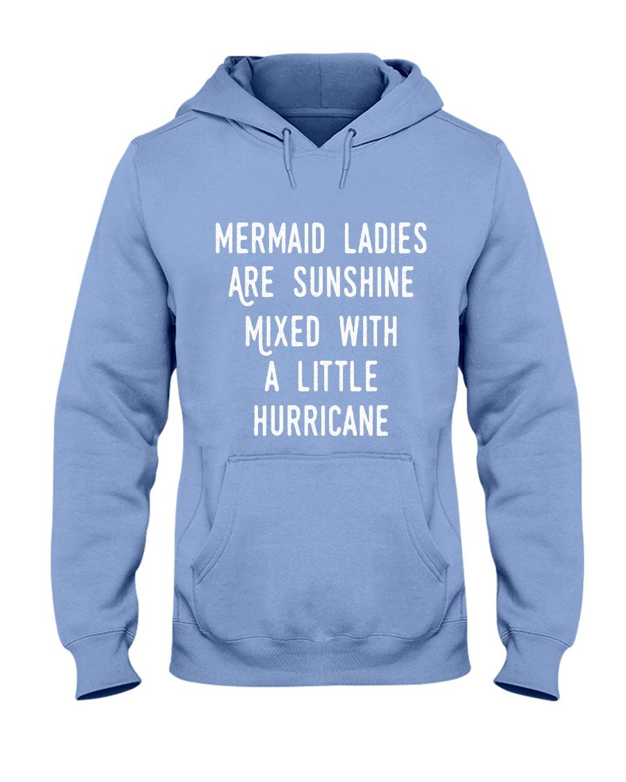 Mermaid Ladies Hooded Sweatshirt