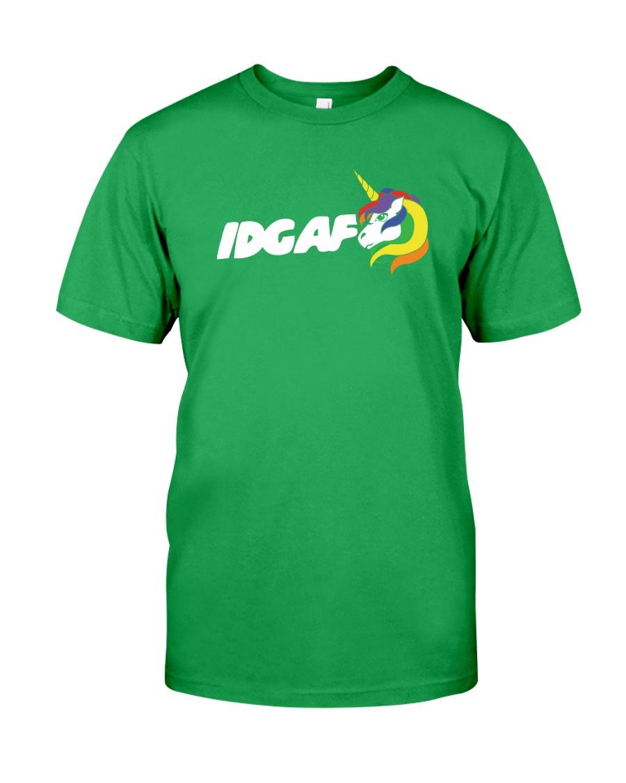 UNICORN IDGAF Classic T-Shirt
