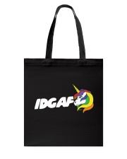 UNICORN IDGAF Tote Bag thumbnail