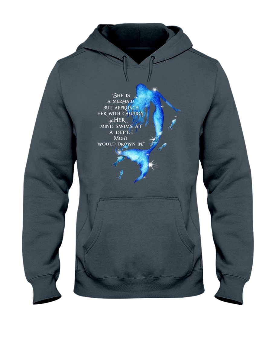 She Is A Mermaid Hooded Sweatshirt