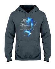She Is A Mermaid Hooded Sweatshirt front