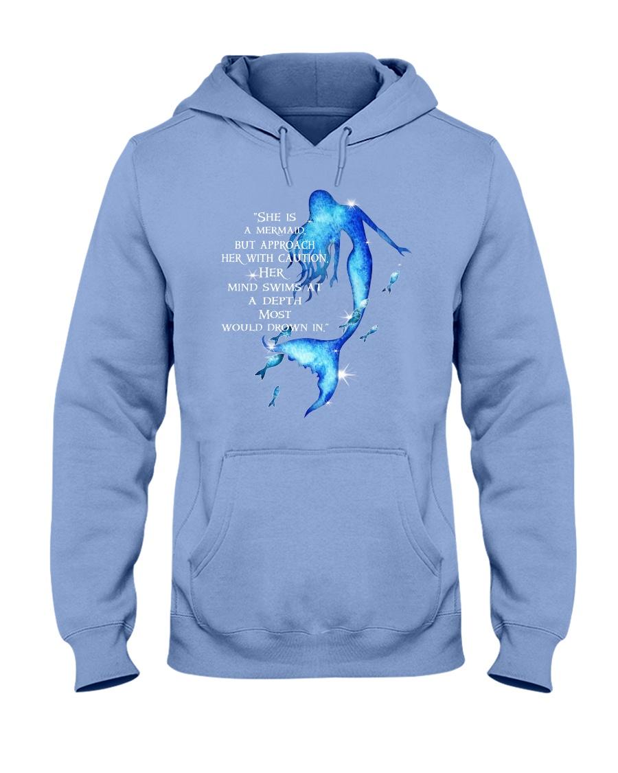 She Is A Mermaid Hooded Sweatshirt